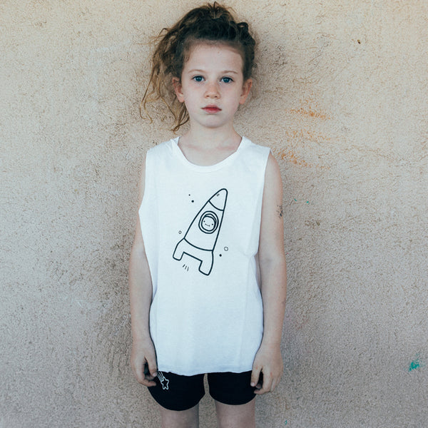 White Space Tanktop