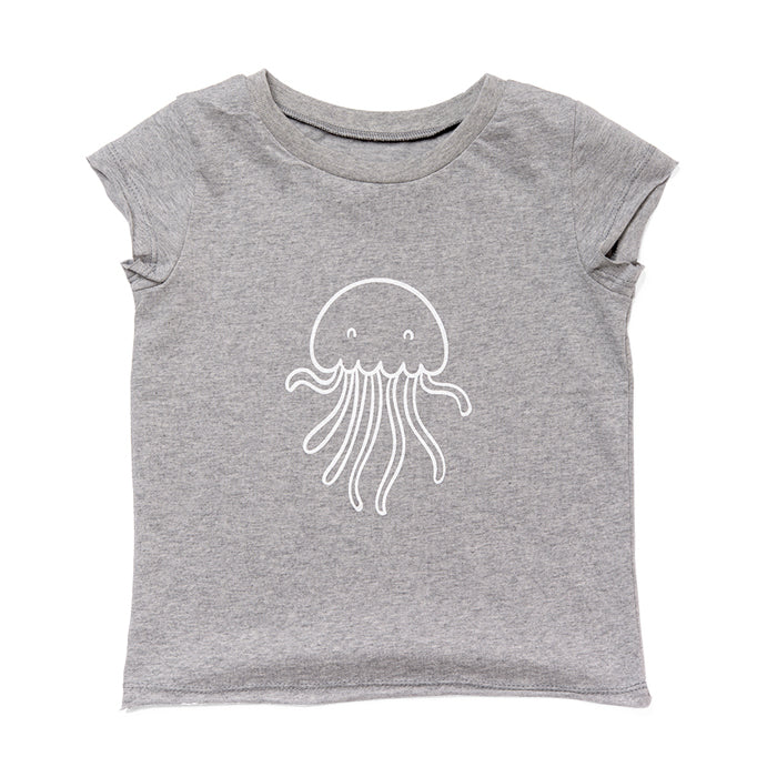 Gray Jellyfish T-shirt