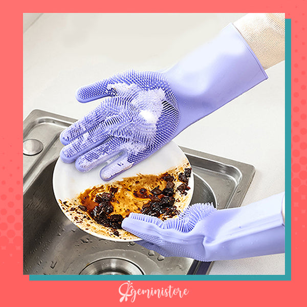 Scrubbing Gloves