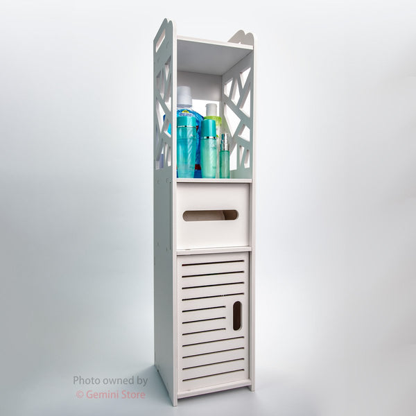 High Quality Toilet Storage Cabinet Waterproof Shelf