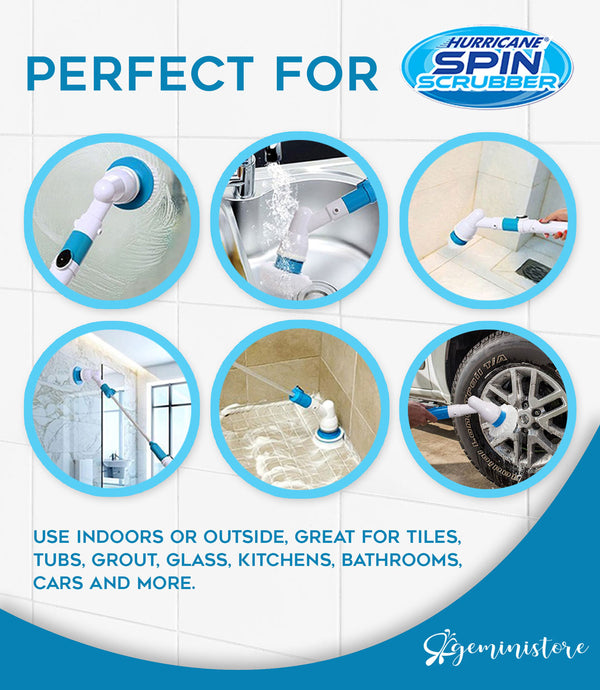 Turbo Power Scrubber - Make Cleaning Easy!