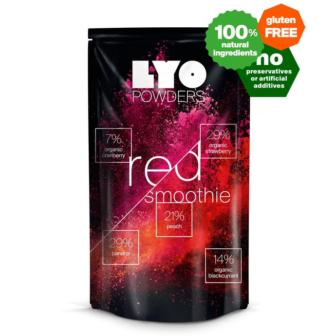 Red smoothie mix - bottle size