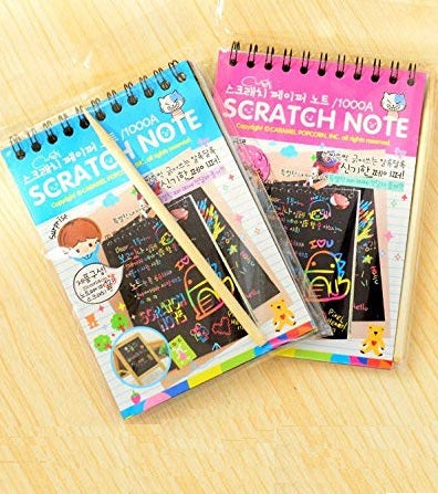 Magic Scratch Note Diary - 10 Pages (Big)