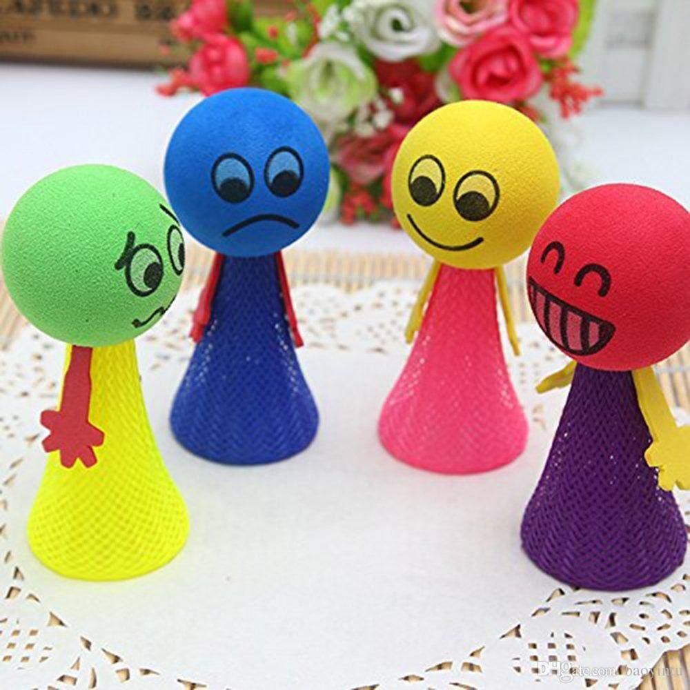 Smiley Emoji Jump Toy For Kids/Birthday Return Gift (1pcs)