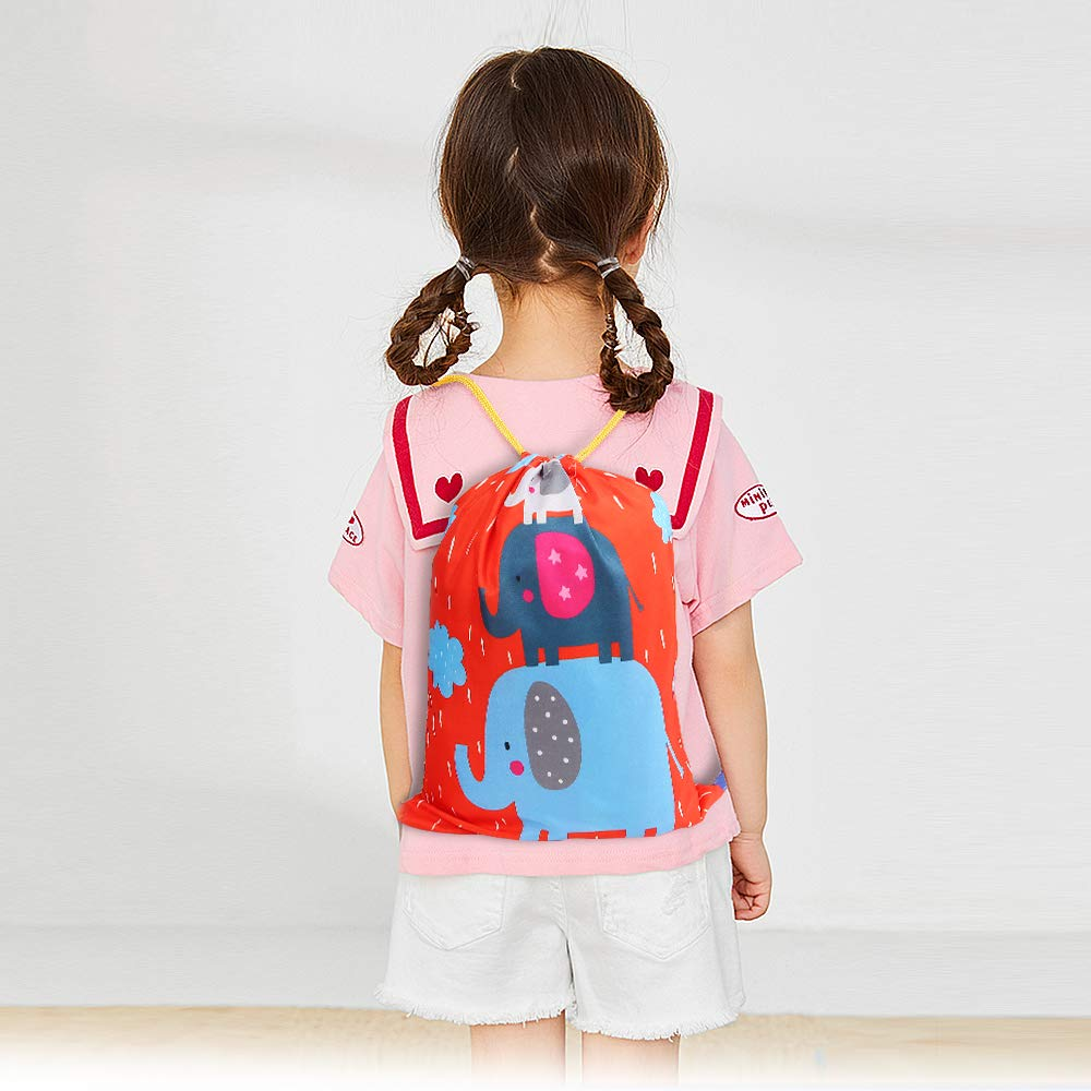 Assorted Drawstring Bags Goodie Bag For Boys & Girls