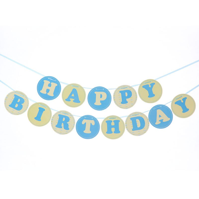 Happy Birthday Banner (Pack of 1 )