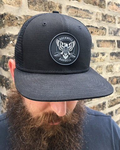 RWBB Black Snap Back Hat