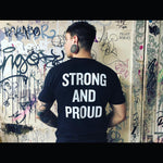 LGBTQIA Strong and Proud T-Shirt