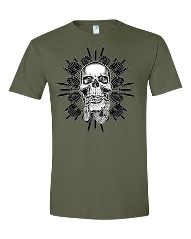 Skull & Barbell Men's T-shirt