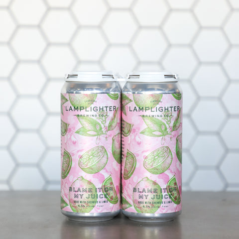 Blame it on My Juice (Cherry and Lime) - Fruited Gose
