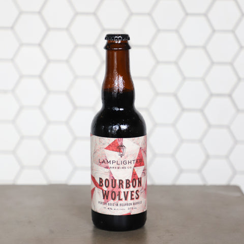 Bourbon Wolves - Porter Aged in Bourbon Barrels (375mL)