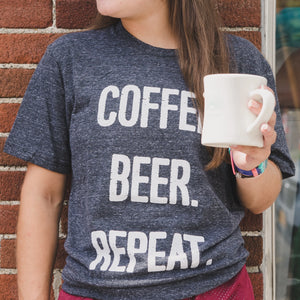 Coffee, Beer, Repeat T Shirt