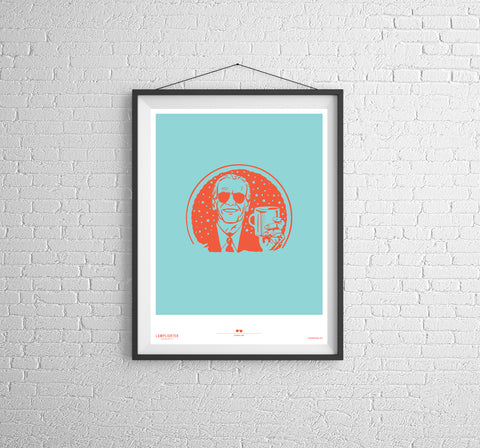 Cuppa Joe Can Art Poster