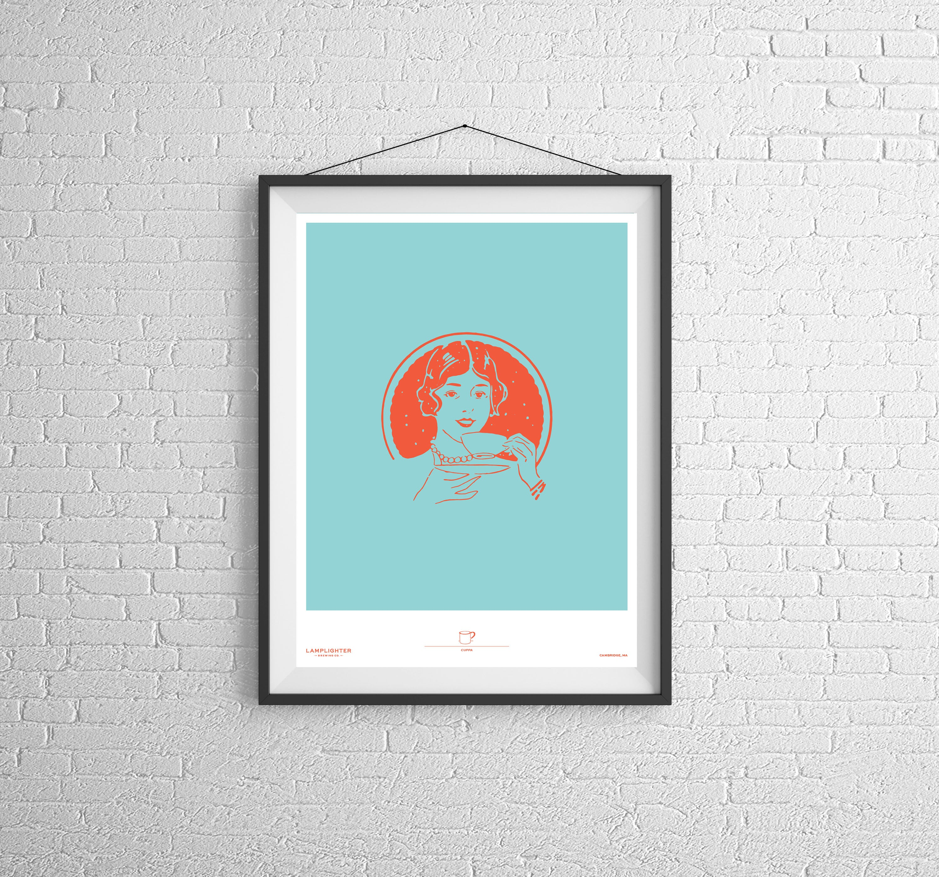 Cuppa Poster Print