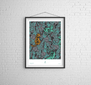 Easy Tiger Poster Print