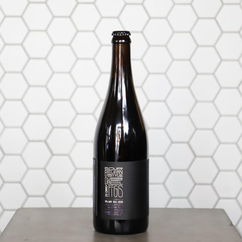 2020 LS VI - Sour Belgian-Style Dubbel aged on Figs