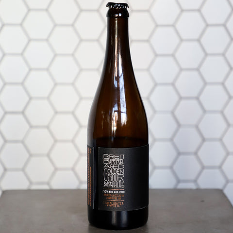 2020 LS IV - Brett Barrel Aged Golden Sour with Apricots
