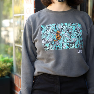 Limited Edition Lazy Tiger Crewneck