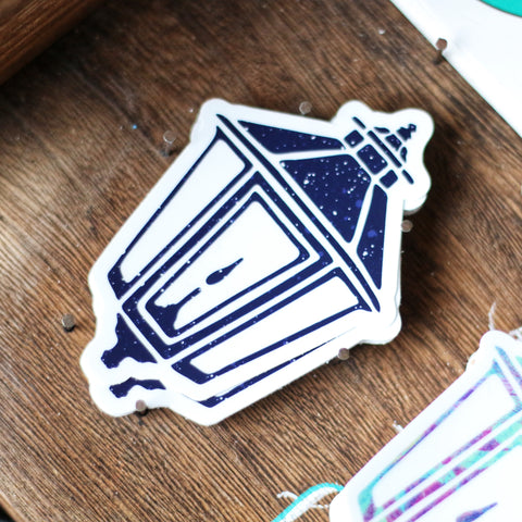Major Tom Lamp Sticker