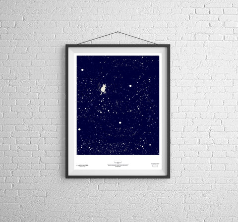 Limited Edition Screen Print: Major Tom