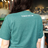 Classic Lamplighter Tee in Forest Green