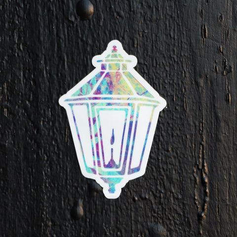 Rainbow Lamp Sticker