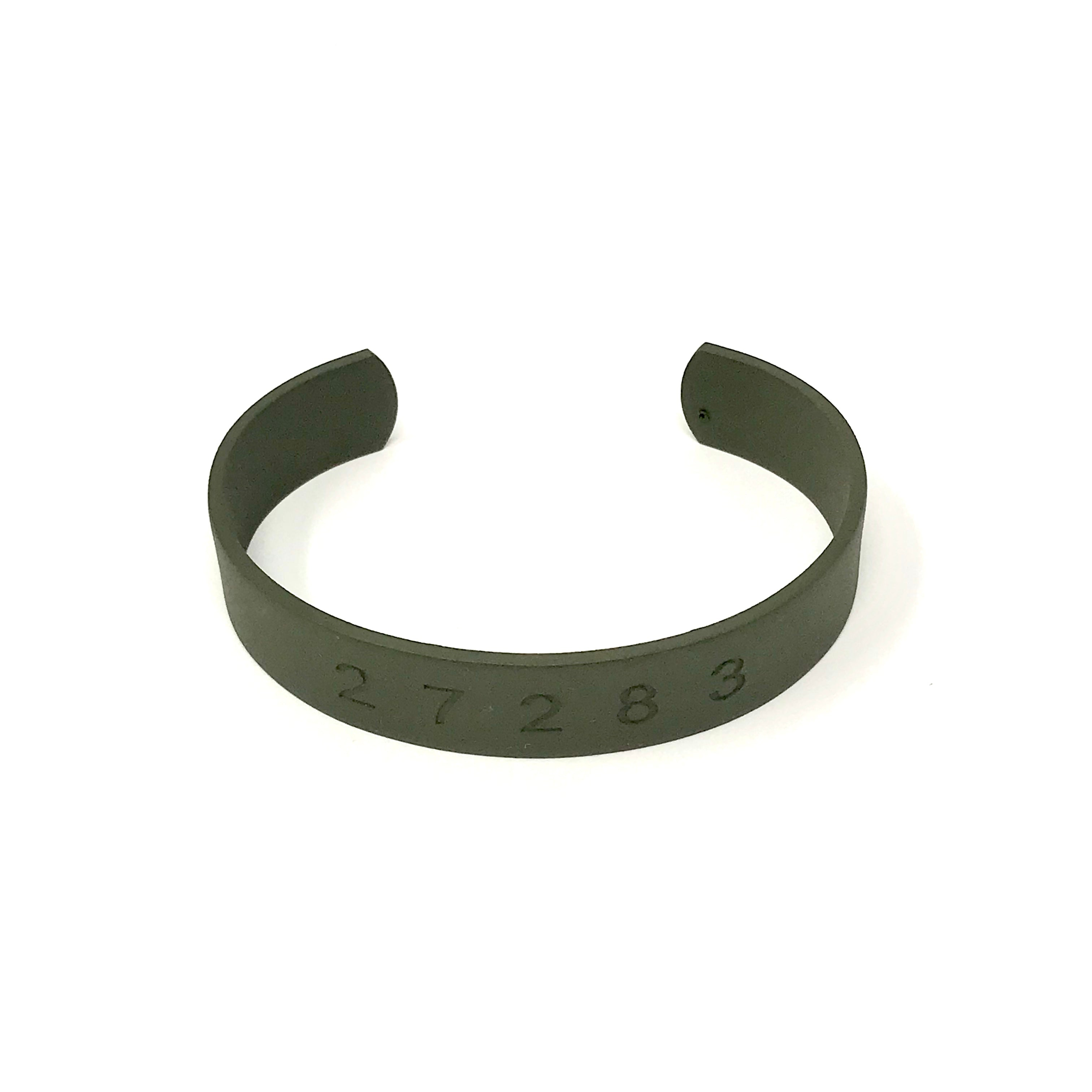 Countless Band Matte Military Green Womens