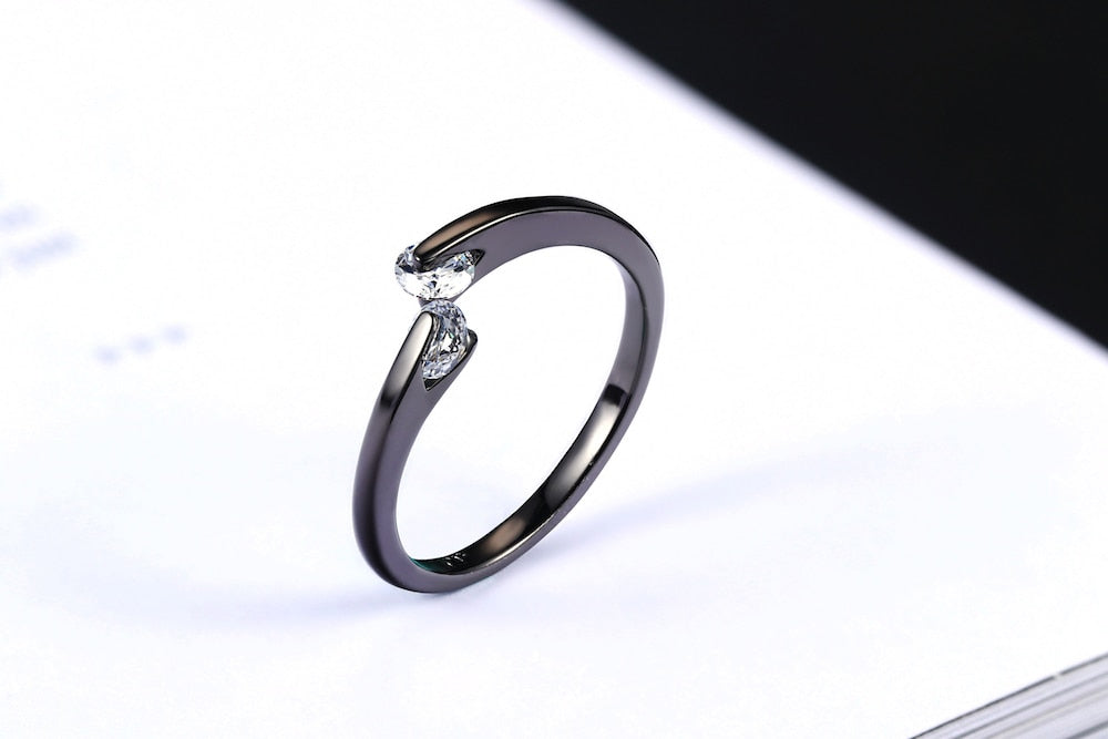 Elegant Twinny Ring - Dress Mist