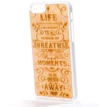 MMORE Wood The Meaning Wooden Phone case - Phone Cover - Phone accessories