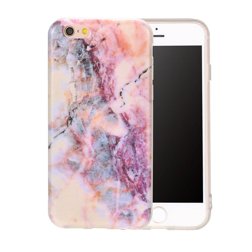 Fashion Marble Case For iPhone 7 6 6s Plus Funda Top Quality Rock Stone Texture Pattern Cover Soft IMD TPU GEL Silicon Protector