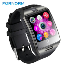 Bluetooth Smart Watch Q18 Pedometer for Android Phone Support SIM SD Card Wristwatch Sport Watches Clock for Huawei Xiaomi HTC