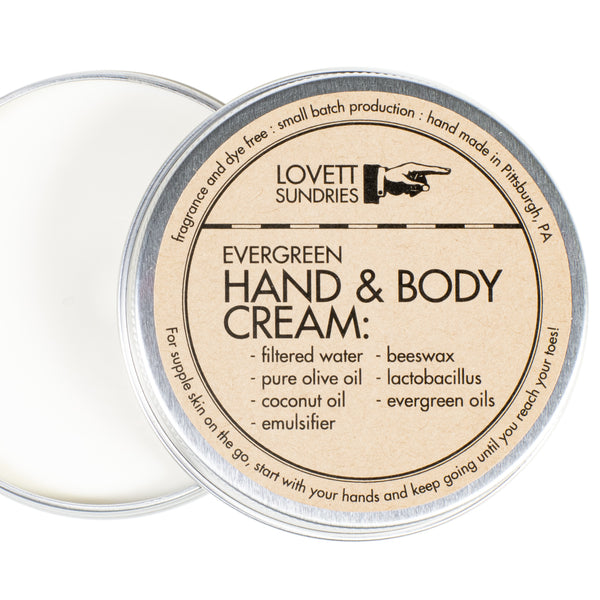 HAND & BODY CREAM - TRAVEL SIZE