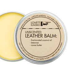 Load image into Gallery viewer, LEATHER BALM