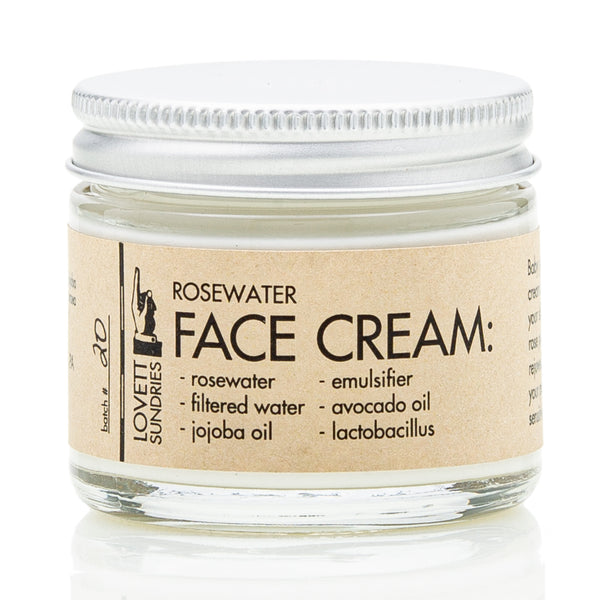 ROSEWATER FACE CREAM