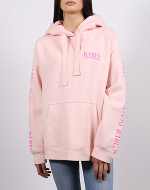 "The ""BABES SUPPORTING BABES"" Big Sister Hoodie 