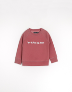 """I GOT IT FROM MY MAMA"" Little Babes Cursive Classic Crew Neck Sweatshirt 