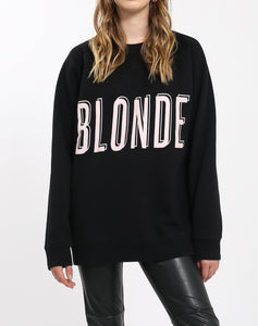 """BLONDE"" Big Sister Crew Neck Sweatshirt 