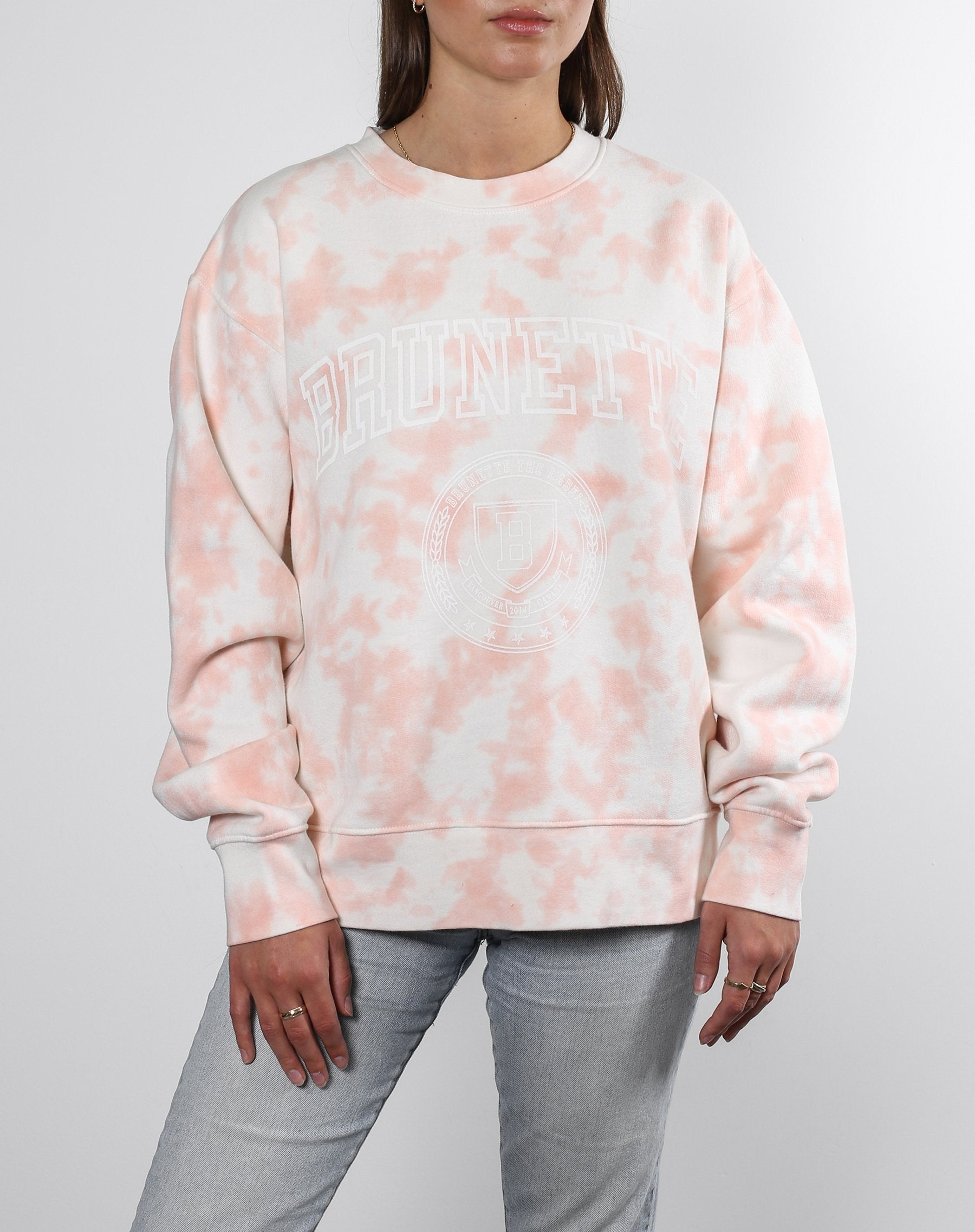 "The ""BRUNETTE"" Step Sister Crew Neck Sweatshirt 