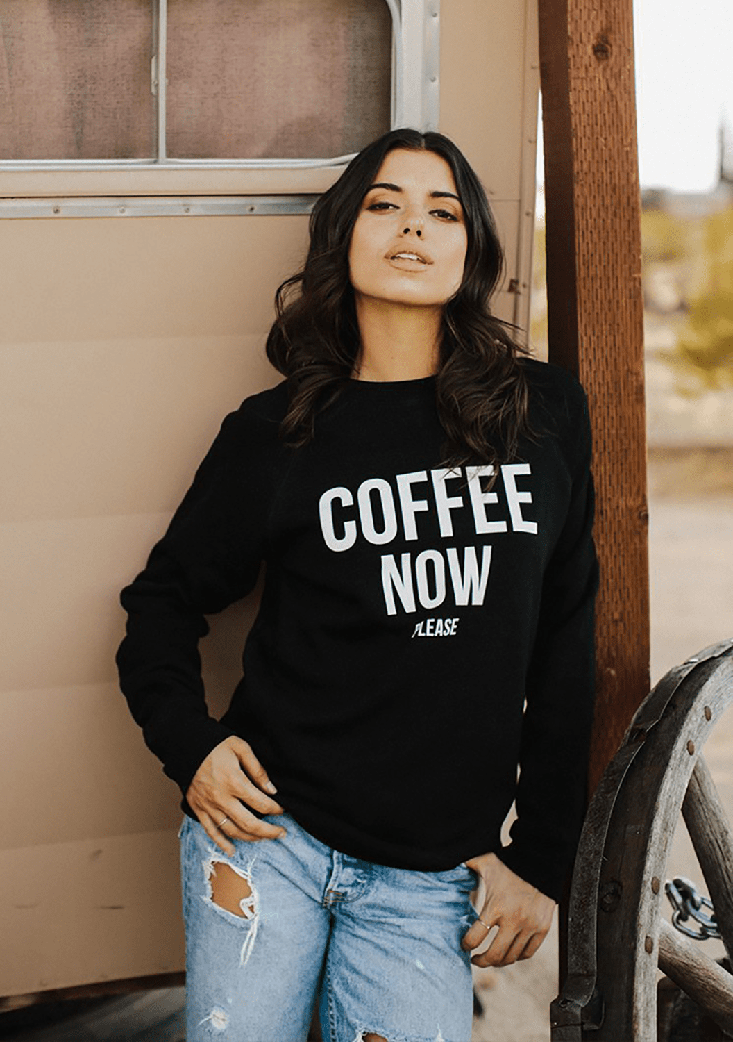 """COFFEE NOW PLEASE"" Crew 