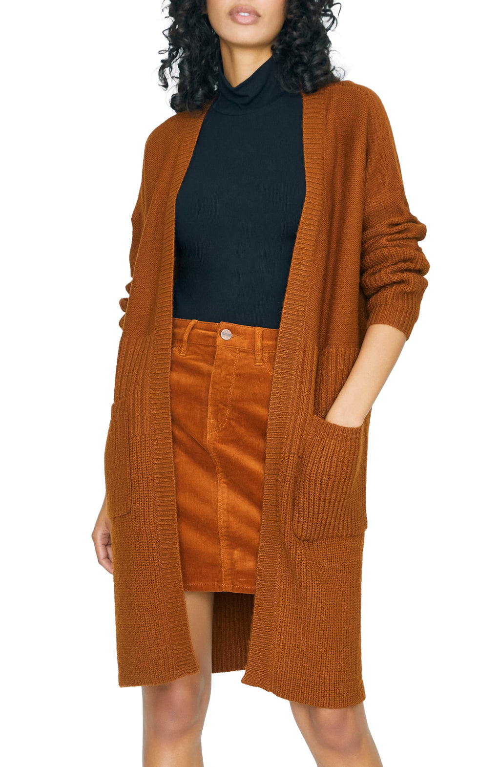 Cozy On Up Cardi | Earthstone