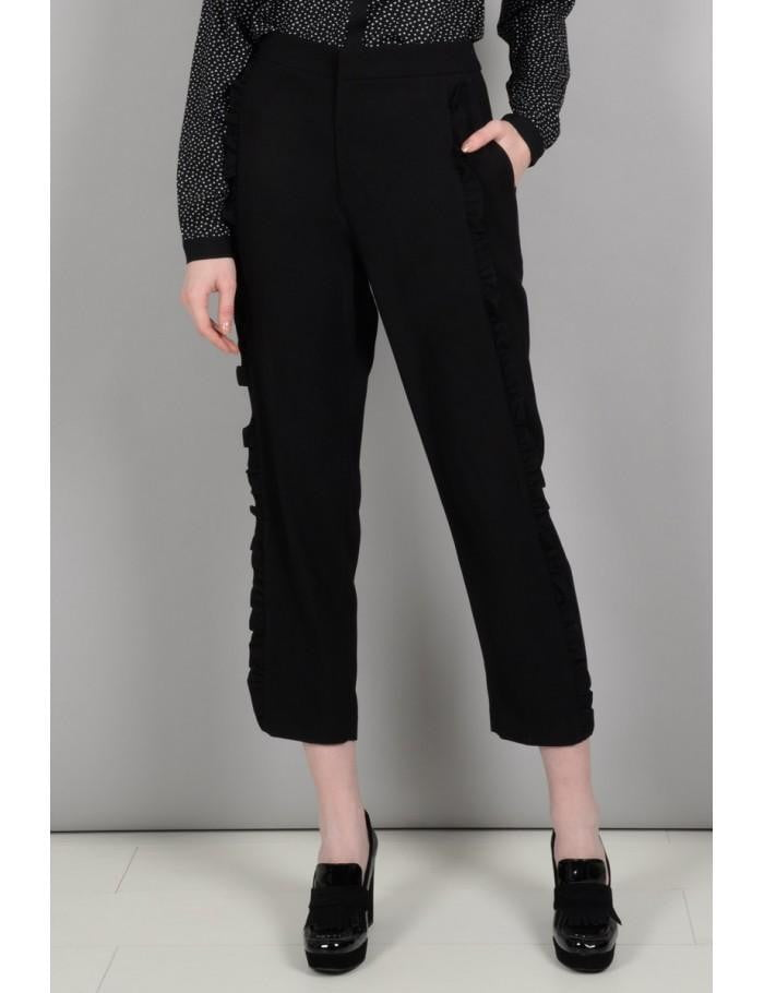 Frilly Pants | Black