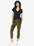 Mia Trooper Pant | Greenstone