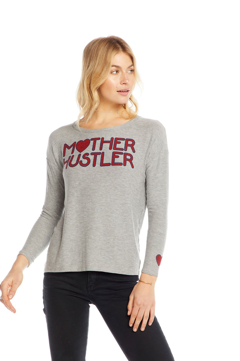 Mother Hustler L/S | Grey
