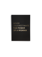 Power of a Woman Journal | Black
