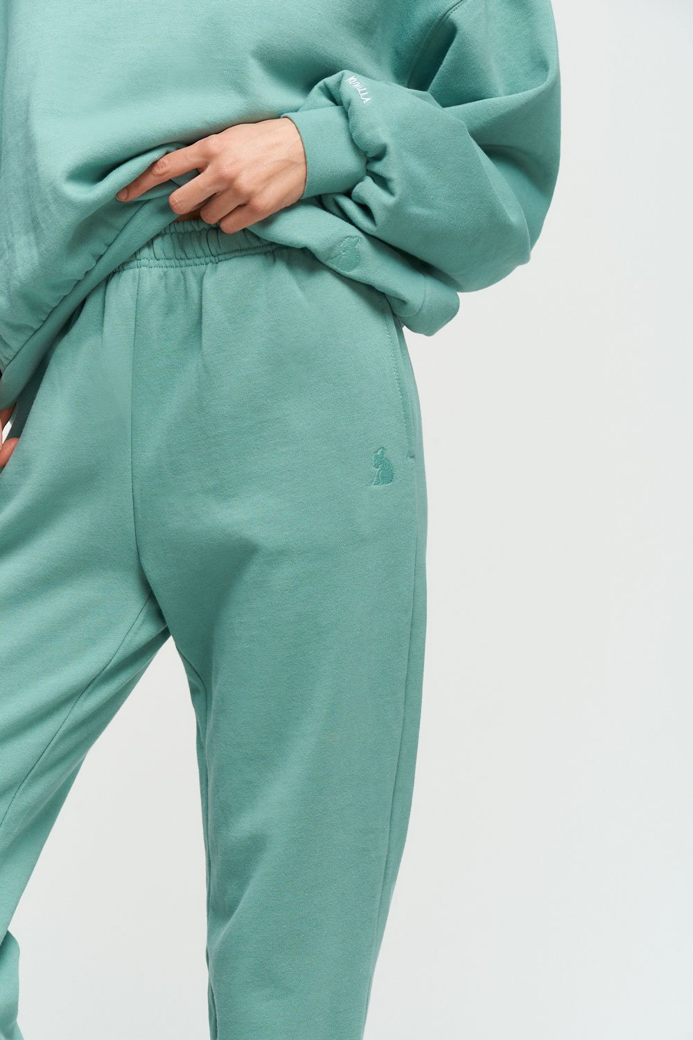 Oversized Sweatpants | Green Tea