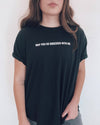 SO OBSESSED t-shirt | black