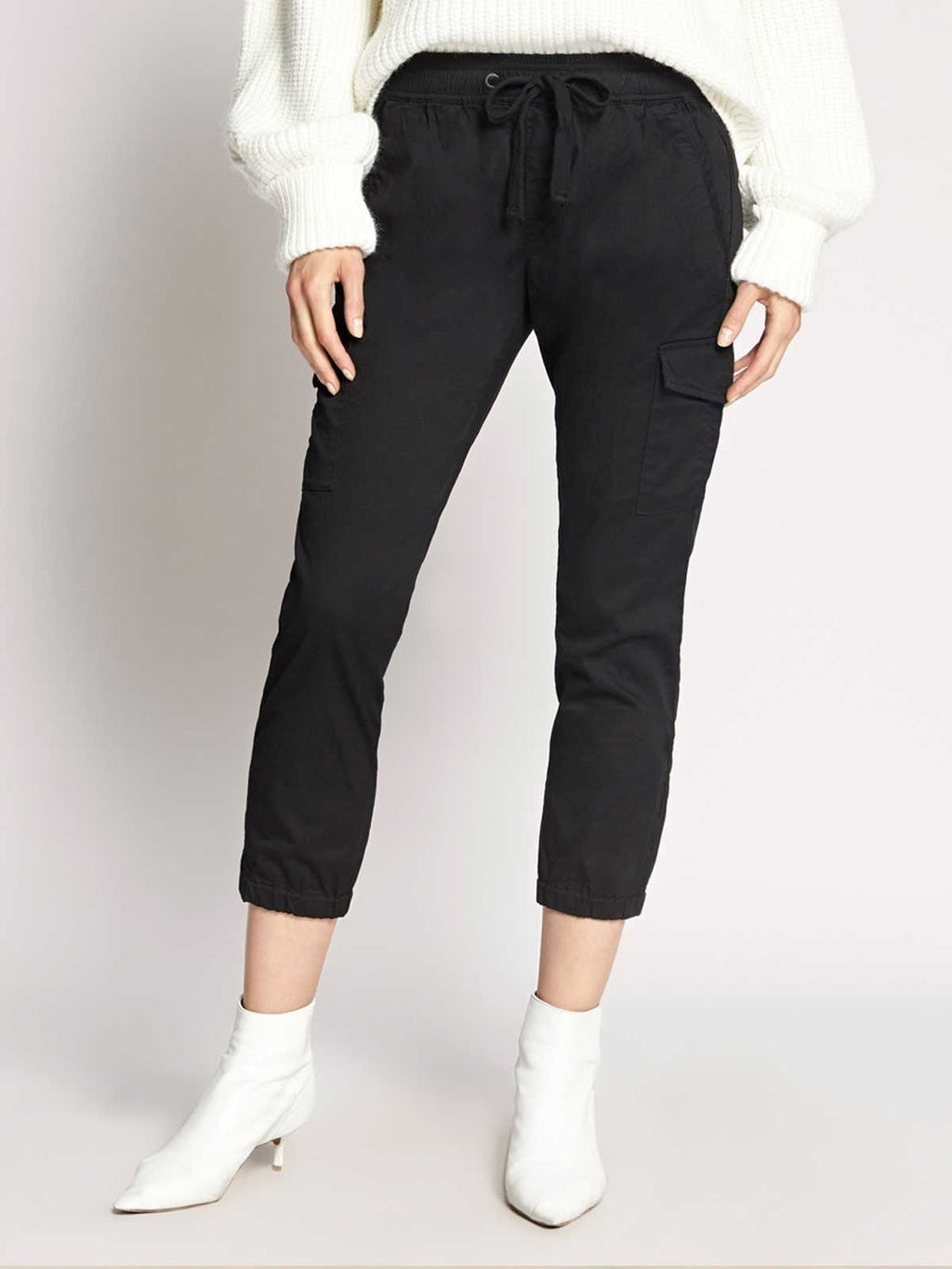 Pull On Trooper Pant | Black