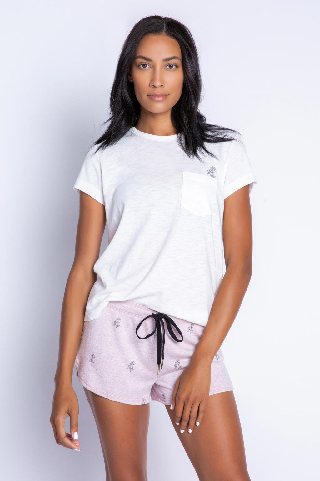 Lily Rose Short | Pale Pink