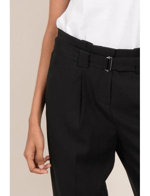 Regular Trousers | Black