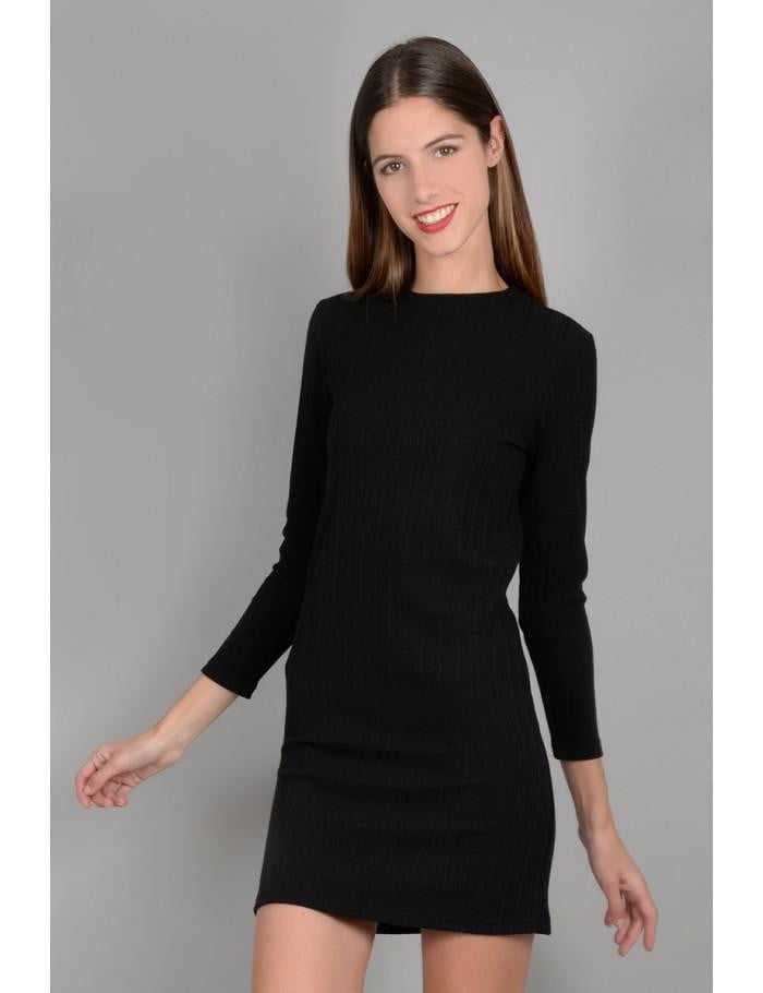 Stretch Dress | Black